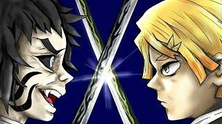 【鬼滅の刃】「縁壱VS無惨」過去編【アフレコ・きめつのやいば】