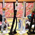 鬼滅の刃 日輪刀ダイキャストコレクション 弐ノ型 煉獄杏寿郎や嘴平伊之助の日輪刀を組み立てるよ!きめつのやいば