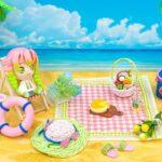 【鬼滅の刃】💖 恋柱 甘露寺蜜璃の小物をDIYミニチュア工作 🍭 素晴らしいピクニックの夏のビーチの作り方12小物 🌼💖 #25