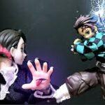 Demon Slayer 鬼滅の刃 stop motion  Tanjiro vs enmu 炭治郎