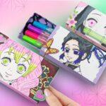 【鬼滅の刃】きめつの紙の筆箱を手作り工作 💖 How to make a paper pencil box【Demon Slayer・Kimetsu no Yaiba】