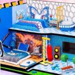 【鬼滅の刃2期】ネズコのミニチュアクラフトハウス💖 伊之助とアオイのカップルのためにDIY2階建てハッピーハウス💖伊之助とアオイの寝室、居間、バスルーム【Kimetsu no Yaiba】鬼滅の刃