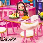 【鬼滅の刃2期】ネズコのミニチュアクラフトハウス💖 ネズコのためにDIY人形キッチン💖ネズコの家具、冷蔵庫、食器棚は手作りです【Kimetsu no Yaiba】鬼滅の刃