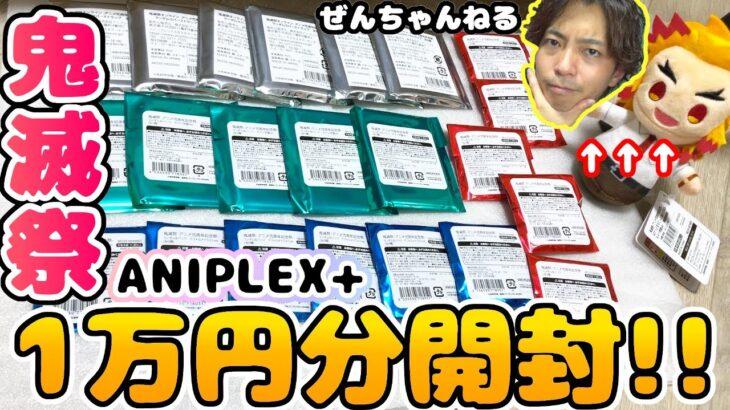 【鬼滅の刃】ANIPLEX+さんの鬼滅祭ランダムグッズ1万円分開封!結果に笑いが止まらない!【開封動画】