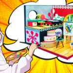 【鬼滅の刃】もしも「キメツ学園!」で実弥が画家になったら ? 💖 DIY「不死川 実弥」ミニチュアドールハウス 🍭 きめつ家づくり 💖 Kimetsu no Academy #71