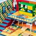 Making Interior Room of Tomioka x Sabito | Build Demon Slayer House | DIY Miniature Cardboard House