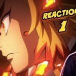 Demon Slayer: Mugen Train Arc 鬼滅の刃 無限列車編 | Episode 1 Reaction! – RENGOKU'S  BENTO STORY!