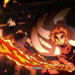 Flame Hashira: Rengoku Kyoujurou   Mugen Train Arc – Flame Breathing   鬼滅の刃 2期 1話
