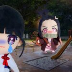 【寸劇】夜寝ないで公園に行っちゃダメ!悪いお姉ちゃんにカナヲちゃんが連れて行かれちゃう!?助けてお姉ちゃん ママコラボ#195 ねないこだれだ